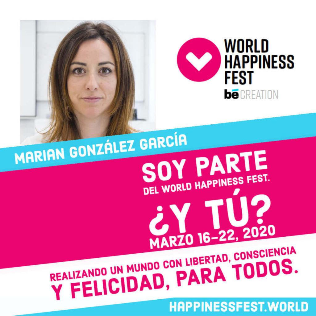 Marian González World Happiness Fest